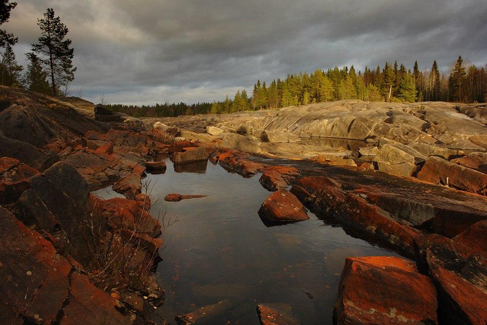 Каменная река. Фото Виктора Дрягуева