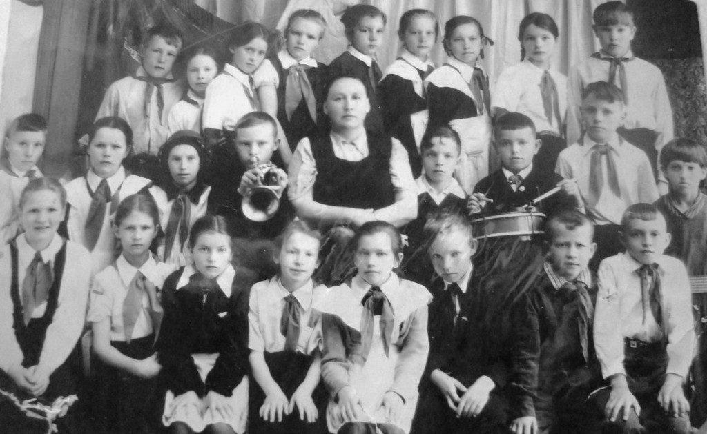 4-й класс школы № 5, 19 шлюз, 1961 г.