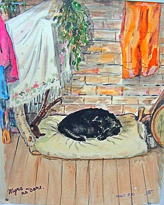 Выставка творческих работ памяти Тамары Николаевны Милюковой в музее-мастерской. Фото Ирины Ильиной (1)