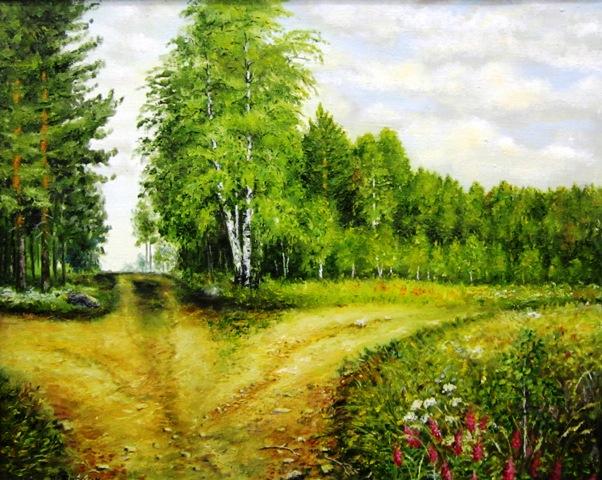 В. М. Кобоев. Развилка трех дорог. 2013 г.