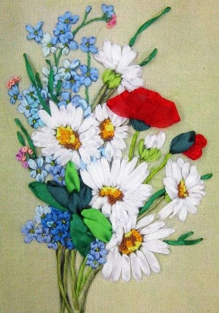 Полевые цветы. Автор Н. А. Сидорова