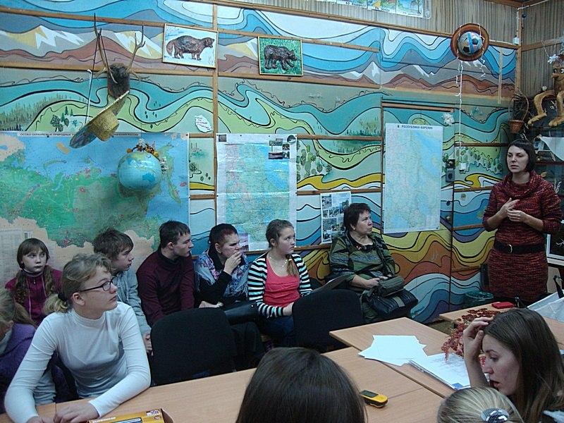 На конкурсе исследовательских краеведческих работ «Отечество», г. Петрозаводск, 28-29 ноября 2013 г. Фото Ирины Ильиной