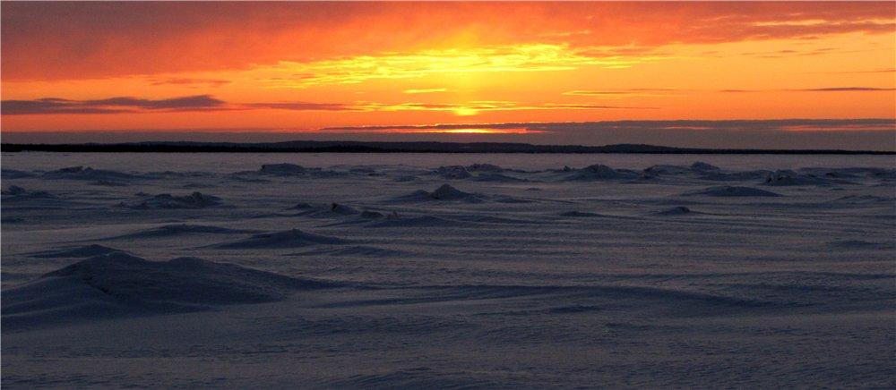 Белое море. Фото В. Рыбьякова