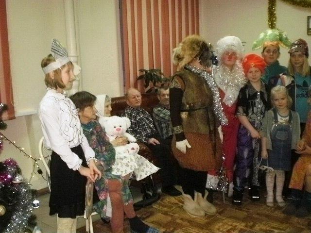 Под чистым небом Рождества. Фото из архива Летнереченской сельской библиотеки
