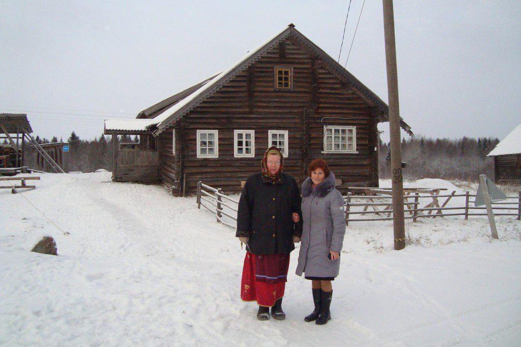 Надежда Калмыкова и Татьяна Каньшиева. Кинерма. 14 января 2014 г.