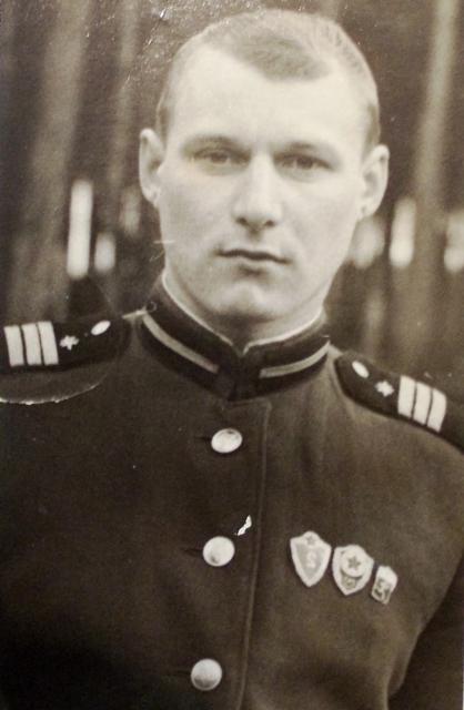 Владимир Константинович Короткий во время службы в армии. Германия. 1966 г.