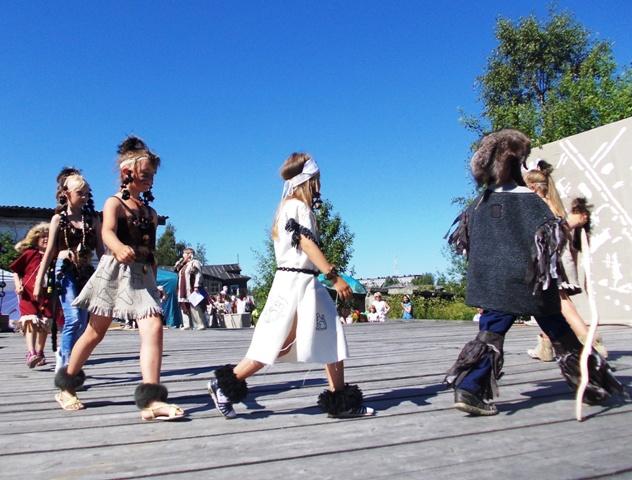 День города Беломорска. 12 июля 2014 г. Фото С. Кошкиной