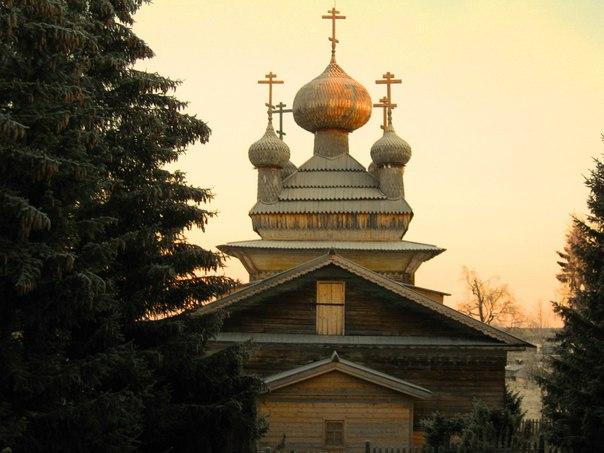 Храм Петра и Павла в с. Вирма Беломорского района