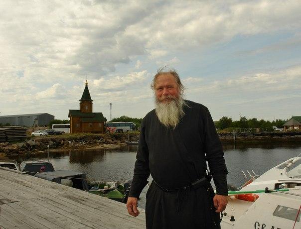 Отец Сергий. На Соловки. Фото В. Дрягуева