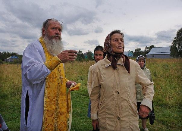 Отец Сергий. Нюхча. Фото Виктора Дрягуева