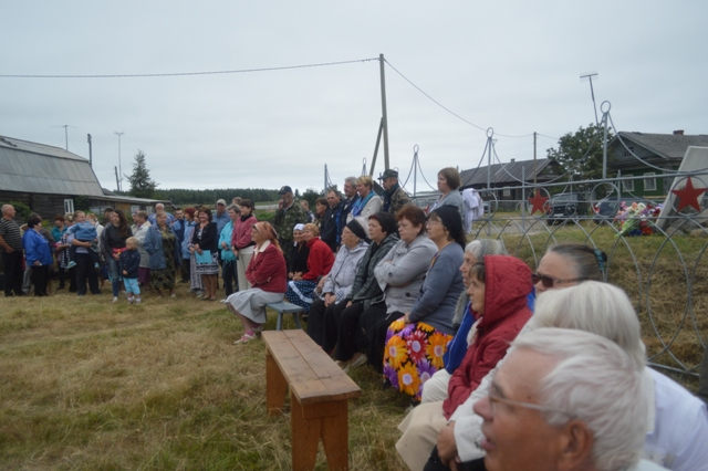На празднике в селе Сухом. 10 августа 2014 г. Фото С. Кошкиной