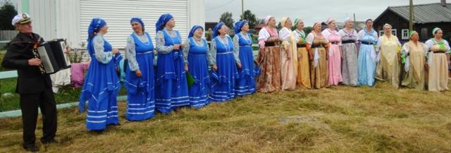 Праздник в селе Сухом.  10 августа 2014 г. Фото С. Кошкиной