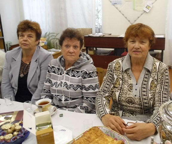 Участники проекта в Летнереченской сельской библиотеке. 22 августа 2014 г. Фото В. Ивановой