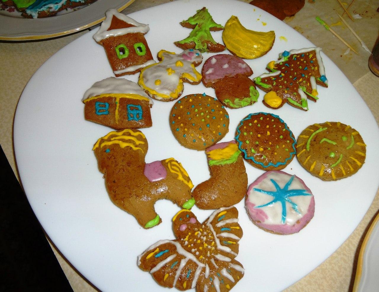 Рождественские пряники. Автор Татьяна Каньшиева (г. Беломорск)