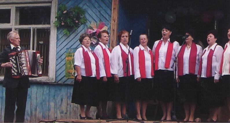 Вокальная группа «Сосновчаночка». 26 июня 2011 г.