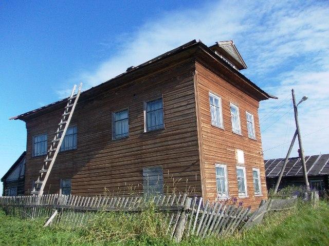 Библиотека-музей им. А. Н. Савина. Шуерецкое. 17 августа 2012 г. Фото С. Кошкиной