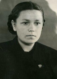 Прокопьева Капитолина Ивановна. 1952 г