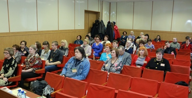IV Межрегиональная краеведческая конференция «Балагуровские чтения». Беломорск. 22 октября 2015 г. Фото Виктора Дрягуева