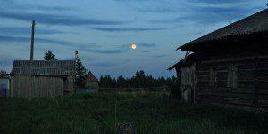 Ночь. Нюхча. 1 июня 2015 г. Фото Виктора Дрягуева