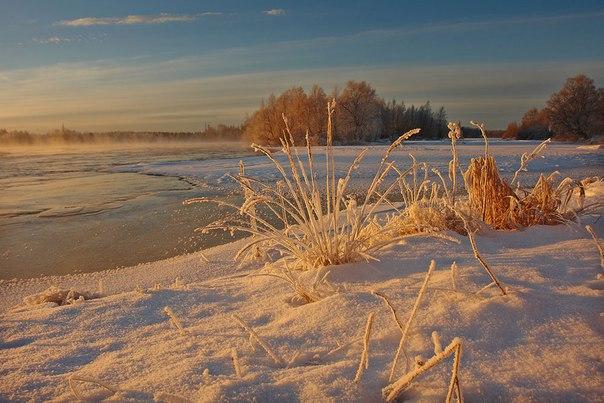 Зима в Поморье. Фото Виктора Дрягуева