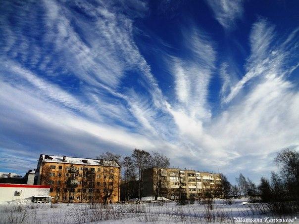 Беломорское небо. Фото Т. Каньшиевой