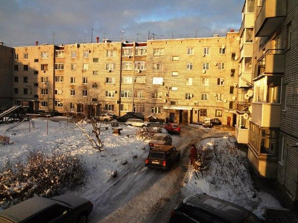 Беломорск. Морозное утро. Фото Т. Каньшиевой