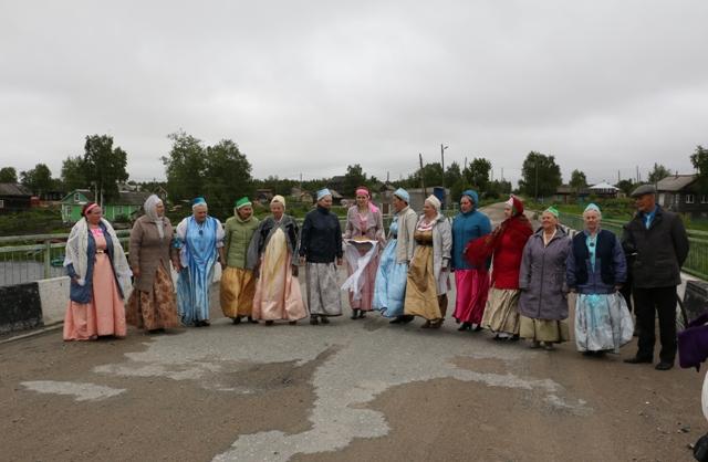 Встреча гостей. Сумский Посад. 11 июня 2016 г. Фото Виктора Дрягуева