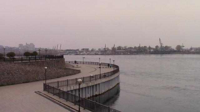 Вид с набережной на Ангару. Фото О. Степановой