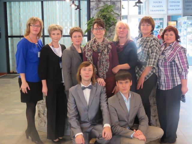 С коллегами из Северо-Западного федерального округа. Фото из архива Центра поморской культуры