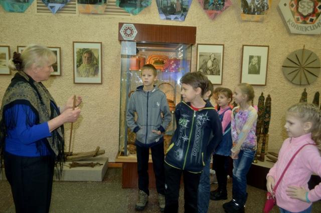 «Бабушкин урок» в Центре поморской культуры. Беломорск. 5 ноября 2016 г. Фото О. Степановой