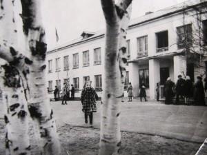 Золотецкая школа. 1981 г. Фото из личного архива С. В. Кошкиной