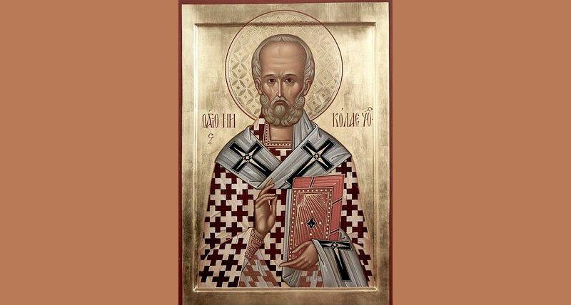 Молебен в часовне Святителя Николая