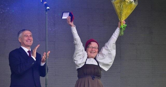 Традиционная культура Поморья на праздновании Дня республики в Беломорске